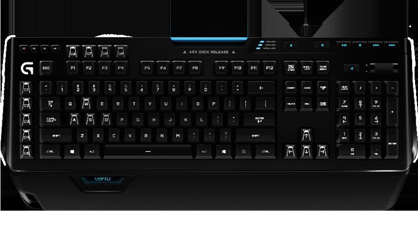 Mechaniczna klawiatura do gier RGB od Logitech